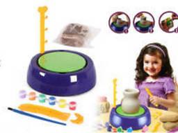"""Набор для творчества Pottery Wheel Imaginative Arts """"Гончар"""" (создание глиняных. .."""