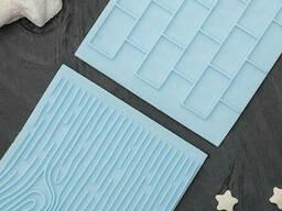 Набор печатей для шоколада и кондитерских изделий «Плитка»