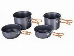 Набор посуды BULin 4 перс. из анодированного алюминия BL200-C17