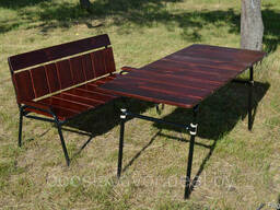 """Набор садовой мебели """"Афины"""" стол + лавочка"""