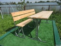 """Набор садовый (стол и скамейка) """"Престиж"""""""