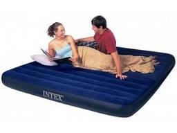 Надувная кровать Intex флок Classic Downy