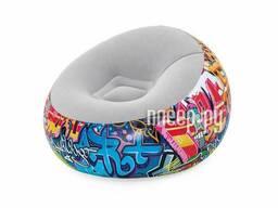 Надувное кресло BestWay Graffiti 112x112x66cm 75075 BW