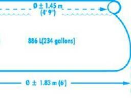 Надувной бассейн intex easy set 183х51см, 886л, от 3лет, арт. 28101