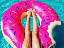 Надувной круг donut float
