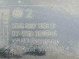 Накладка (юбка) заднего бампера Volkswagen Golf 7