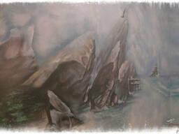 Нанесение широкоформатных картин (фресок) - фото 5
