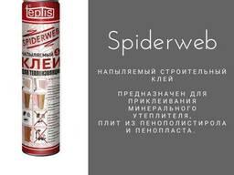 Напыляемый строительный клей Теплис Spiderweb