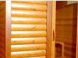 Наружная и внутренняя отделка деревянных домов, дач, бань