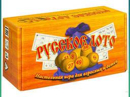 Настольная игра для взрослых и детей Русское Лото