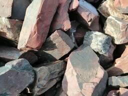 Натуральный природный камень Яшма рваная.