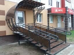 Навес, козырёк над входом Сморгонь Молодечно Минск