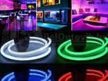 Неоновая светодиодная лента Neon Flexible Strip с контроллером / Гибкий неон 5 м. Красный - фото 1