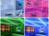 Неоновая светодиодная лента Neon Flexible Strip с контроллером / Гибкий неон 5 м. Красный - фото 4