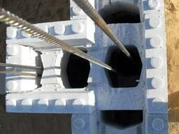 Несъёмная опалубка для возведение стен - фото 2