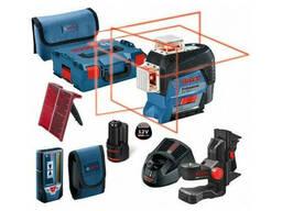 Нивелир лазерный линейный Bosch GLL 3-80 C с держателем и. ..