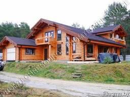 Норвежские дома ручной рубки