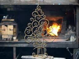 Новогодняя елочка из металла