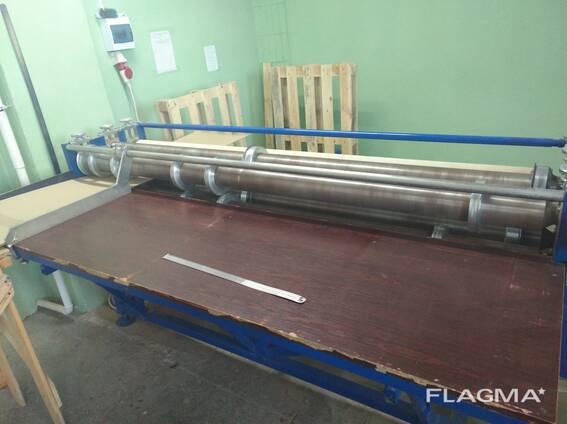 Оборудование б/у для изготовления ящиков из гофракартона