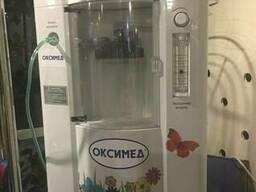 Оборудование для производства кислородных коктейлей.