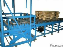 Оборудование для сбивки поддонов или линию сбивки