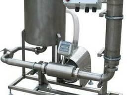 Оборудование для учета и фильтрации молока