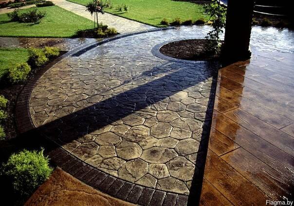 Штампованный бетон купить в минске жидкий бетон купить в самаре