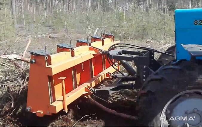 Оборудование навесное для сбора веток фронтальное ЕМ-2200