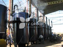 Оборудование по переработке отходов в жидкое топливо