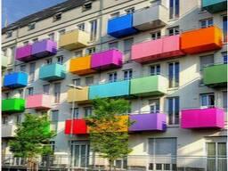 Обшивка балкона в Гомеле .