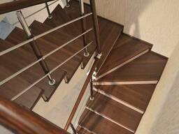 Обшивка бетонных лестниц