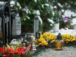 Обслуживание могил
