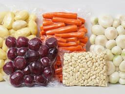 Очищенные вакуумированные фермерские овощи
