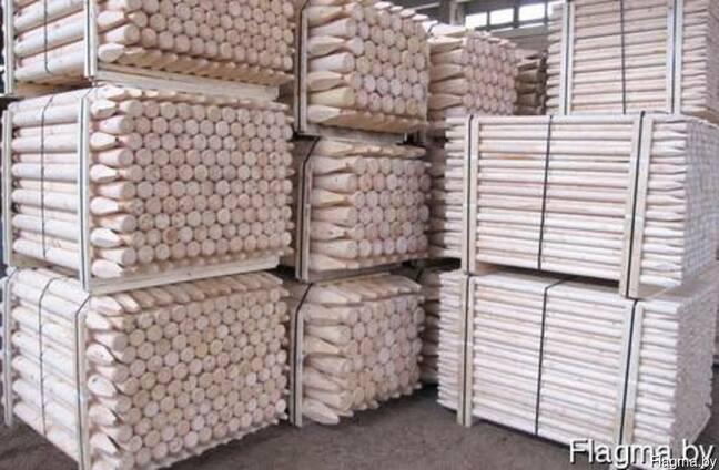 Оцилиндрованные изделия из древесины хвойных пород ( палисад
