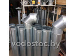 Трубы оцинкованные для вентиляции некондиция