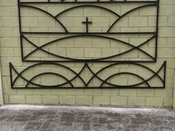 Оградка на захоронение