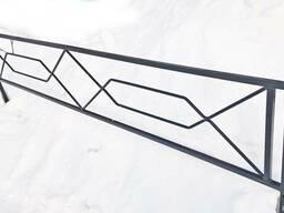 Ограды металлические - фото 3