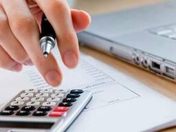 Оказание услуг по восстановлению и ведению бухгалтерского уч