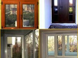 Окна, двери, рамы ПВХ