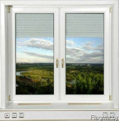 Окна ПВХ Brusbox Rehau. Комплектующие окон. Москитные сетки