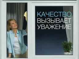 """Окна ПВХ любых размеров. Профиль """"Rehau"""" 3-е остекление"""