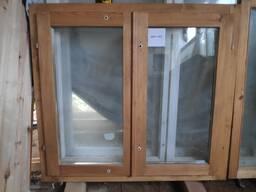 Окно деревянное для дачи