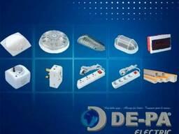 ООО «ДЕ-ПА» реализует электротехническую и светотехническую