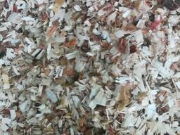 Опилка лиственных пород
