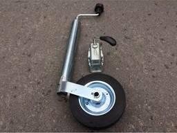 Опорное колесо с крепёжным хомутом к прицепу