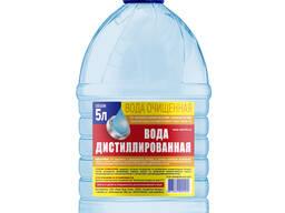 Оптовая и Розничная продажа дистиллированной воды 5л