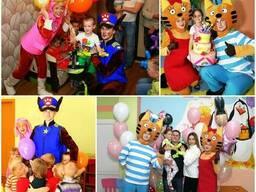 Организация детских праздников. Детские аниматоры