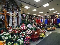 Организация похорон. Ритуальные услуги.