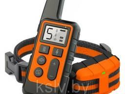 Ошейник для дрессировки собак 079. Оранжевый дизайн. .. .