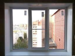Остекление балконов, окна ПВХ, алюминиевые рамы, крыши.